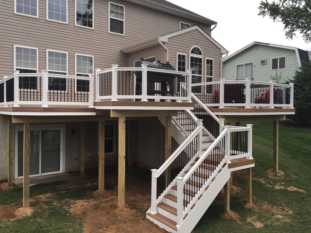 Maryland Deck Builders Maryland Deck Works Inc Decks Patios
