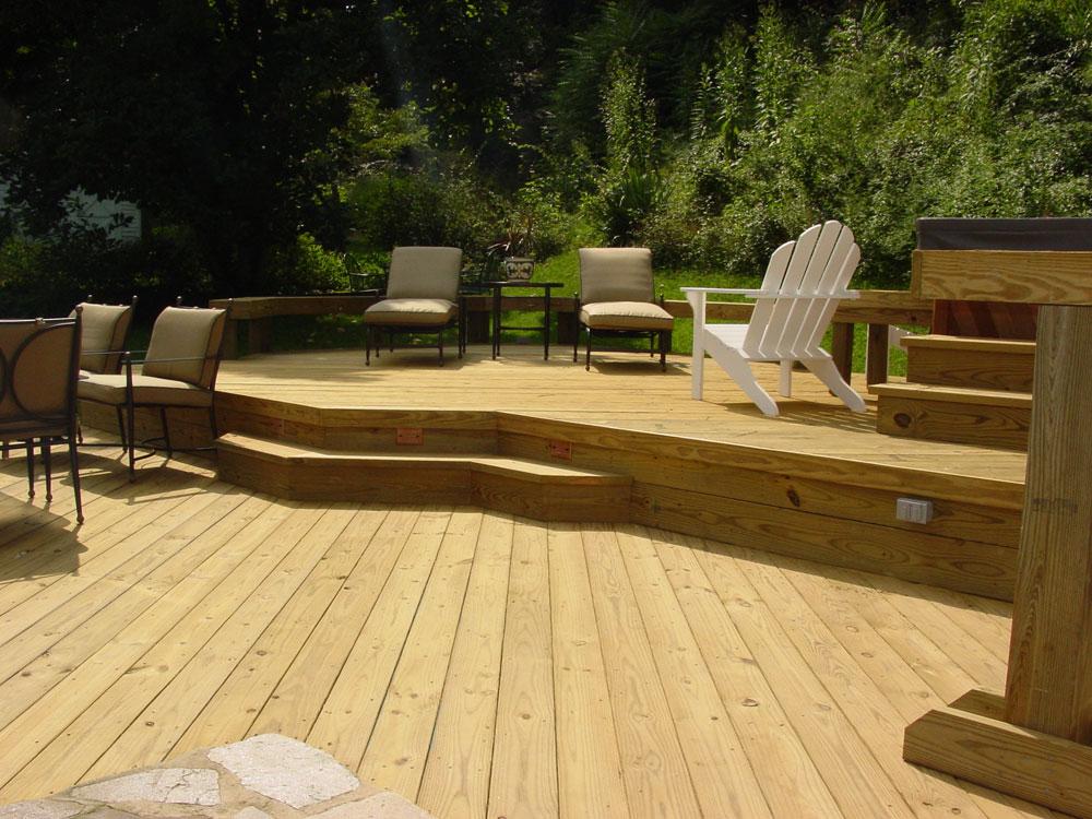 Wood Decking Photo Gallery Maryland Deckworks Inc
